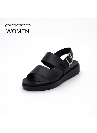 Pieces Ayakkabı Siyah